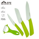 4PCS Kitchen/Ceramic Items for Ceramic Peeler & Cutter Knives Set
