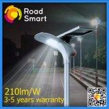 2017 210lm/W Solar LED Garden Street Lamp with Motion Sensor