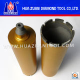 High Drilling Speed Diamond Crowns for Wet Drilling Holes