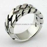 Stainless Steel Label Ring (R30723)