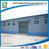 Steel Work in Building Construction Steel Bar Warehouse Storage