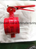 Grooved End Butterfly Valve for Fire Fighting