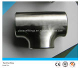 Polished Machined Stainless Steel Sanitary Fittings Tee
