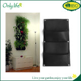 Onlylife Ecofriendly High Quality Hanging Grow Bag Black Vertical Planter