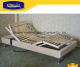 Home Furniture European Style Birch Wood Slat Adjustable Bed Electric Bed