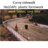 Garden Plastic Formwork Work Faster, Cost Less, Sidewalk Formwork