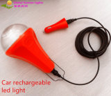 New Car LED Lamp/Solar Rechargeable Lamp with Dimmable Function