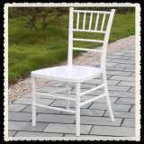 White Plastic Chiavari Chair for Weddings