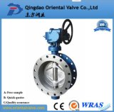DIN GB Flang Type Di Butterfly Valve with Good Price