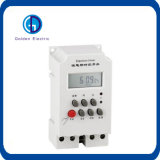 Kg316t-II 35mm DIN Rail AC220V LCD Display Microcomputer Timer Switch