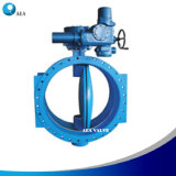 Awwa C504, API 609 Ductile Iron Concentric Double Flanged End Butterfly Valve