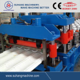 Automatic Glazed Tile Roll Forming Machine with Speed 8-12m/Min