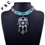 Boho Handmade Indian Long Beads Wedding Jewelry Chunky Choker Necklaces