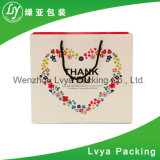 Factory Custom Made Brand Name Craft Cosmetic Foldable Shopping Kraft Paper Bags
