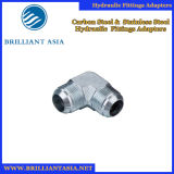 Steel Material Elbow Straight Hydraulic Hose Fitting, Flange and Hydraulic Adapters