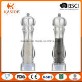 Transparent Acrylic Chamber Manual Salt & Pepper Mill
