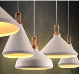 Modern Office White Wood Aluminum Loft Decoration Light