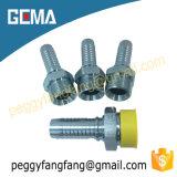 Stainless Steel Jic Bsp Male Hydraulic Fittings 12611