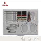 High Quality One Use Hotel Sewing Kit with Samll Scissors for Travel and Sewing Kit Hotel Amenities