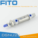 Ma Stainless Steel Pneumatic Mini Cylinder/Dsnu Series Mini Cylinder