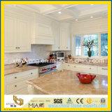 Prefabricated Light Emperador Marble Kitchen Countertop