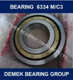 Deep Groove Ball Bearing 6334 6334m with Brass Cage