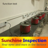 Rice Cooker Quality Inspection / Professional Inspection Services in Home Appliance / Sunchine Inspection Your Reliable Partner in China