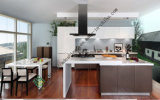 White High Gloss Acrylic Kitchen Cabinet (zs-231)