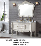 Europe Style New Model Big Size Basin Bathroom Furniture