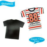 """Custom Printing T Shirt Shape Ceramic Fridge Magnet - 3"""""""
