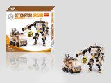 Kids Plastic Storm Warrior Blocks Toy