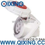 AC 380-415V 16A 4 Pin Weather Proof Plug Industrial Socket