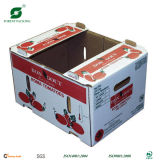Black Corrugated Apple Packaging Box