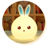 Portable Silicone Mini Animal Touch Sensor Night Light