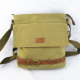 Men′s Canvas Shoulder Bag
