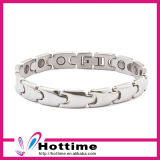 Unisex Simple Style Bio Germanium Bracelet for Silver Color