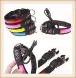 High Quality USB Reflective Dog Collar/ LED Dog Collar (KC0117)