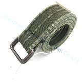 Square Ring Bucle Belt Canvas Men Belt