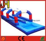Red/White/Blue Dual Lane Inflatable Slip N Slide