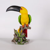 Resin Garden Decoration Yard Animal Dairy Parrot for Sale