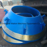 HP Series Cone Crusher Wear Mantle and Concave