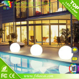 Solar Powered 20, 30, 40, 50, 60cm Diameter LED Glow Ball IP68 for Swimming Pool or Garden