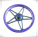 Purple Powder Coating for Wheel Hub Coating