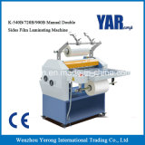 High Quality K Series Manual Double Sides Laminating Machine for Sheet Paper