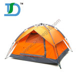 Factory Double Layer Colour Customized Automatic Waterproof Orange Camping Tent