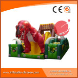 Outdoor Inflatable Dry Slide/Dinosaur Obstacle Inflatable Fun City (T6-211)