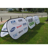 Oval Advertising Outdoor Pop up a Frame Banner (SS-AB-13)