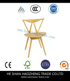 Hzdc153 Warm Stained Upholstered Chair