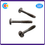 Phillips/Slotted Shaft of The British Flat Tail Tapping Screws