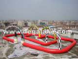 Inflatable Race Track Sports Game for Bumper Car